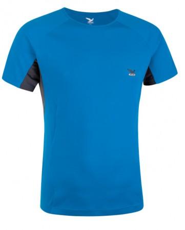 Salewa T-shirt maglia manica corta Mikendo polar blue