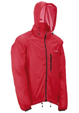 Camp windproof jacket Kripton red