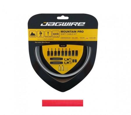Jagwire Kit Guaina Cavo Cambio MTB Pro colore rosso
