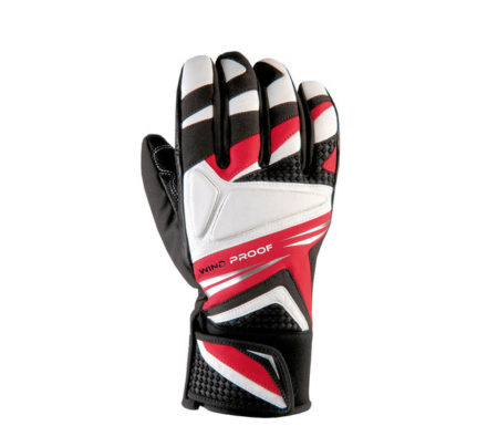 Snowlife Guanti sci Challenger black red