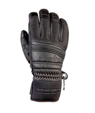 Snowlife Guanti sci in pelle Classic Leather black