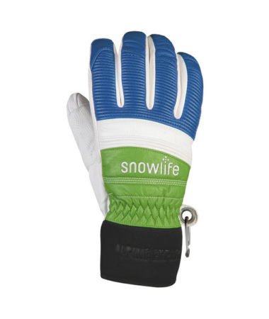 Snowlife Guanti sci in pelle Classic Leather royal green navy