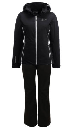 Dare2B Completo sci donna Invoke II Jacket Black Remark Pant – 2018