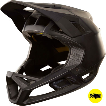 FOX Casco integrale bike Proframe Matte Black – 2018