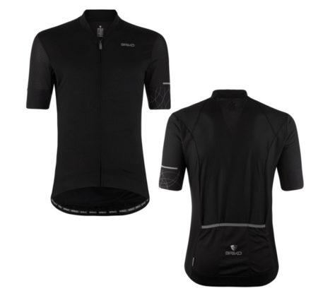BRIKO Maglia bici Leggera Jersey black – 2018