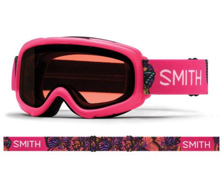 Smith Maschera da sci bambino Gambler Crazy Pink