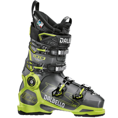 Dalbello Scarponi sci DS AX 100 Anthracite yellow – 2019