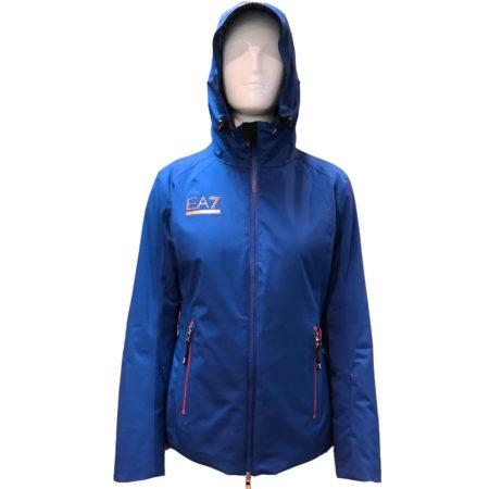 EA7 Armani ski jacket  woman 6ZTG06 Mazarine Blue