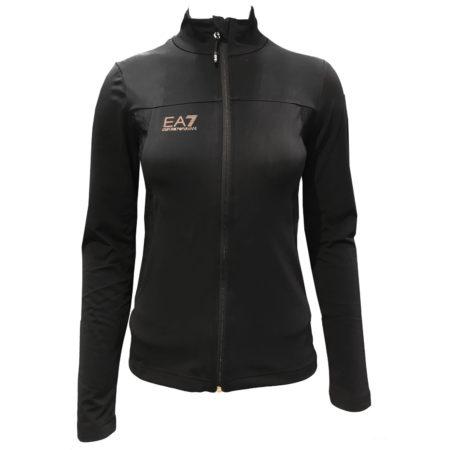 EA7 Armani Fleece sci donna 6ZTM15 Black – 2019