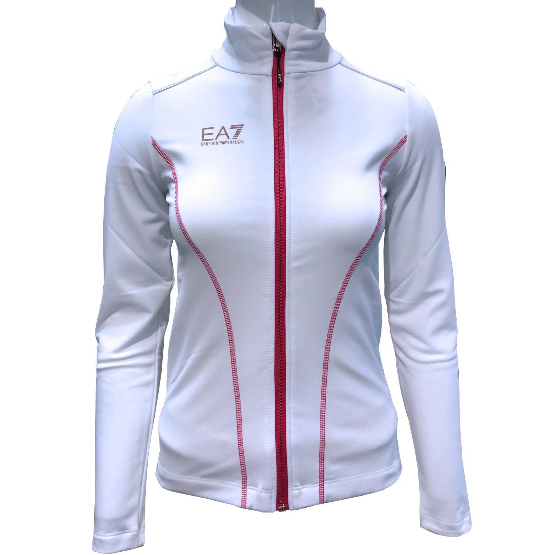 the best attitude 79377 aa5a7 EA7 Armani ski fleece woman 6ZTM14 White – 2019