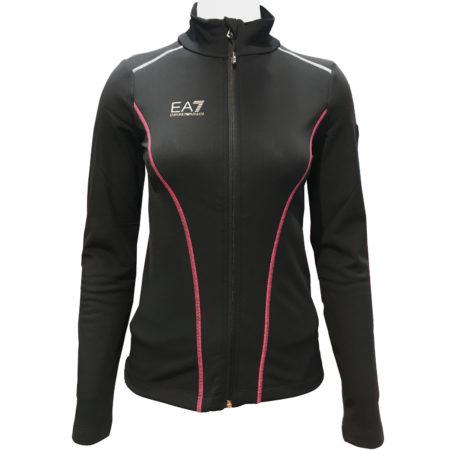 EA7 Armani Fleece sci donna 6ZTM14 Black – 2019