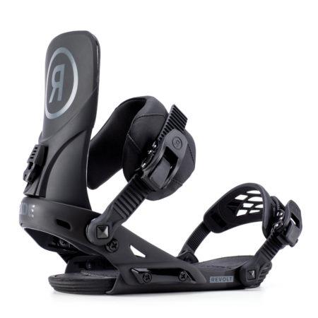 Ride Attacchi snowboard Revolt black – 2019