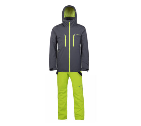 Protest Completo sci snowboard uomo Clavin Asphalt Miikka Lime Green – 2019