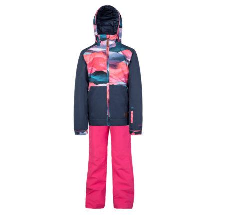 Protest Completo sci snowboard bambina Yoko JR Tulip Red Lole Flora – 2019