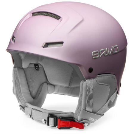 Briko Casco sci donna Giada matt metal pink – 2019
