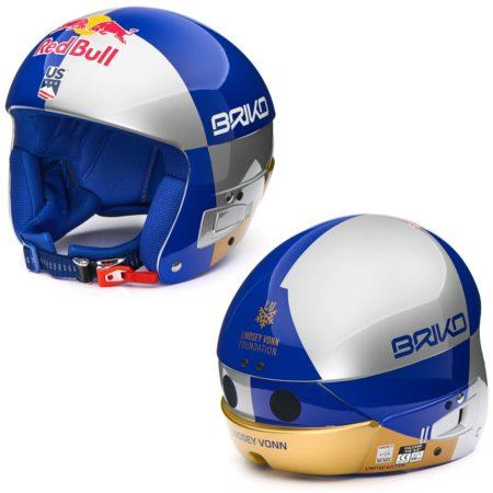 Briko Casco sci Vulcano FIS 6.8 Red Bull Vonn – 2019