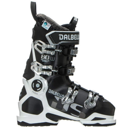 Dalbello Scarponi sci DS 80 W LS Black White – 2019