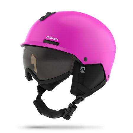 Marker casco sci con visiera bambino Vijo Pink – 2019