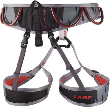 Camp -harness- FLINT black/red – 2019