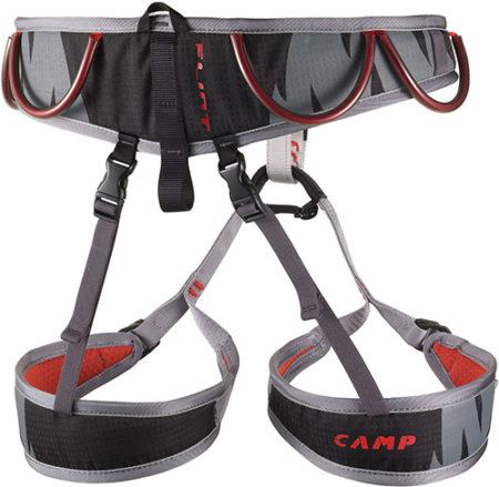 Camp imbrago arrampicata – FLINT nero/rosso – 2019