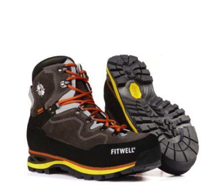 FITWELL- scarpe trekking escursionismo NADIR Anthracite – 2019