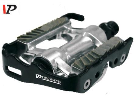 VP COMPONENTS Pedali Bici DUAL VP Alluminio Forgiato Perno su Sfere