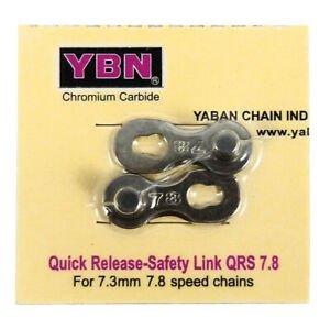 YBN falsa maglia sgancio rapido YBN 7.8 speed chain grigio