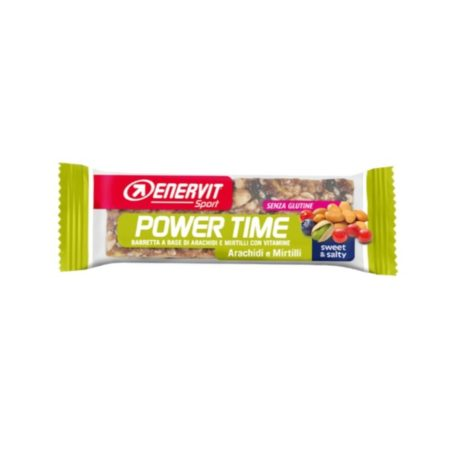 ENERVIT Power Time Outdoor Bar barrette a base di Arachidi e Mirtilli