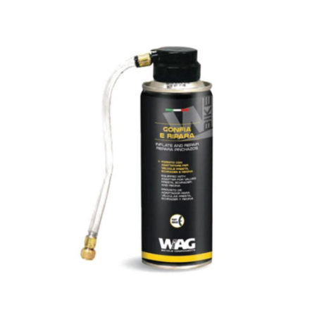 WAG gonfia e ripara
