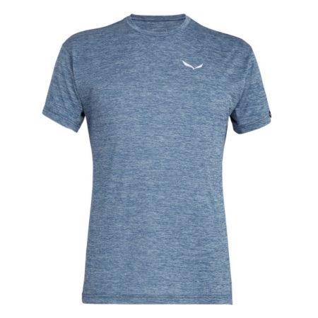 Salewa t-shirt uomo PUEZ MELANGE DRY'TON blu melange – 2019
