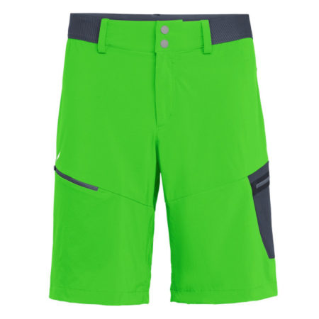Salewa men's shorts PEDROC CARGO 2 DURASTRETCH CORDURA® green – 2019