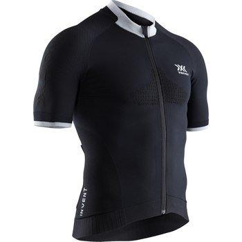 X-BIONIC Invent® 4.0 uomo Bike Race Zip Shirt Sh Sl nero- 2019