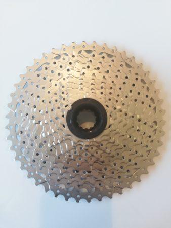 Sunrace pacco pignoni 11 velocità 11-46, colore silver