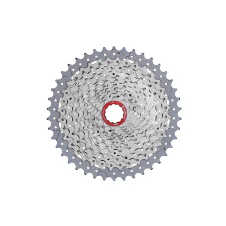Sunrace pacco pignoni 11 velocità 10-46 MX9 XD, colore silver