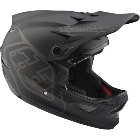 Troy Lee Designs Casco integrale bike D3 Fiberlite black matt – 2019