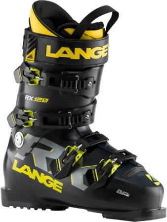 Lange scarponi da sci RX 120 (BLACK/YELLOW) – 2020