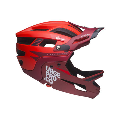 URGE casco bike enduro GRINGO DE LA PAMPA Red – 2020