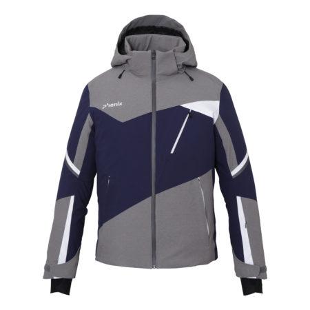 Phenix ski jacket man Prism Jacket Blu Grey
