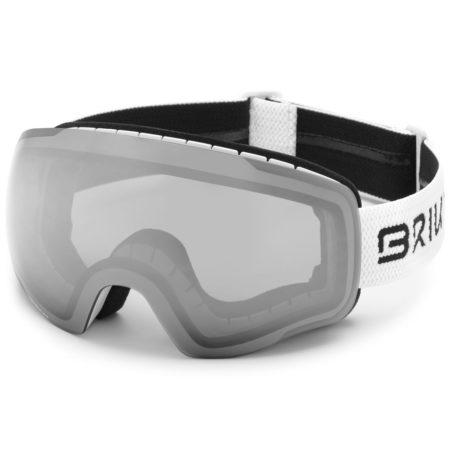 Briko maschera sci Kaba 8.9 – MATT WHITE – SM2 – 2020