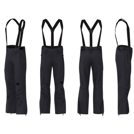 Kappa Men's ski pants 6CENTO 622 – Black