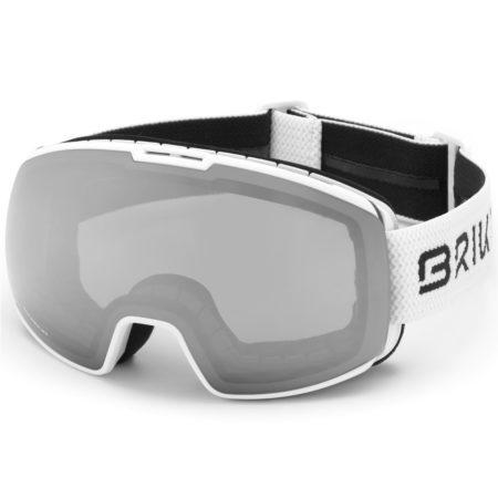 Briko maschera sci NYIRA 7.6 – MATT WHITE – SM3