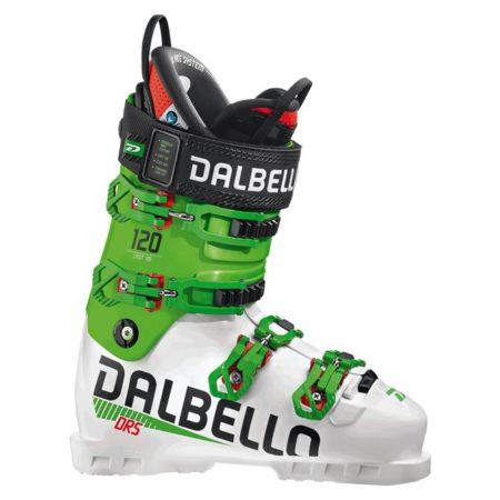 Dalbello Scarponi sci DRS 120 UNI White Green Race – 2020