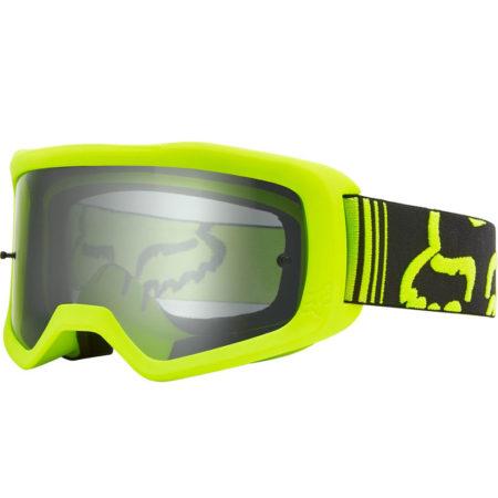 FOX maschera bike Main Race giallo fluo-nero