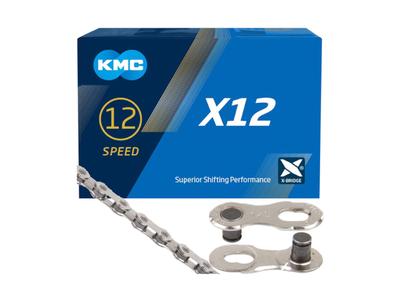 KMC Catena 12 velocità argento EPT