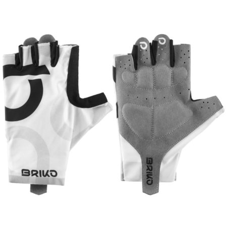 Briko Guanti bike ULTRALIGHT GLOVE bianco – nero 2020