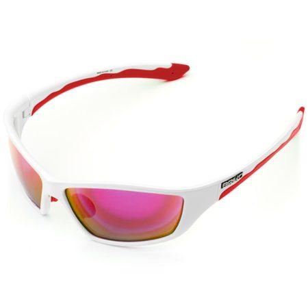 Briko occhiali bike ACTION bianco – rosso