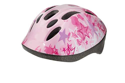 casco bambina rosa
