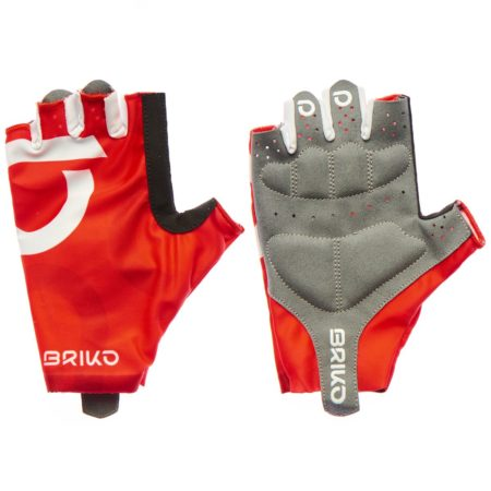 Briko Guanti bike ULTRALIGHT GLOVE red – white 2020