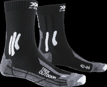 X-BIONIC calzini trekking uomo X-SOCKS® TREK OUTDOOR bianco-nero