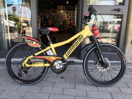 Bici bambino Lombardo Brera 20″ giallo
